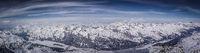 Switzerland Engadin Panoramic View