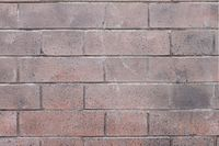 Red bricks wall with an regular pattern as a background