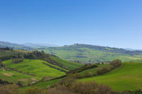 Panorama of the tuscany