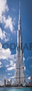 Burj Khalifa, the tallest building in the world