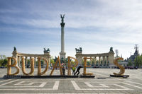 Dismantlement of Budapest Logo - Heroes square