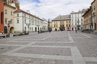 Historic Little Town Sqare Cracow