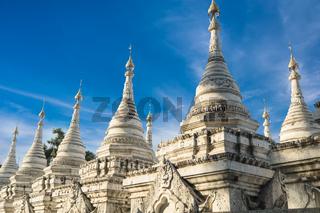 Sandamuni Pagoda. Mandalay, Myanmar (Burma) travel