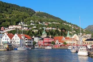Der alte Hafen von Bergen
