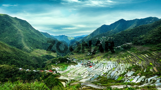 Rice terraces fields. Banaue, Philippines