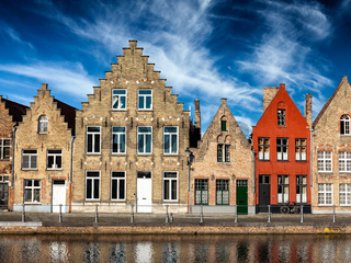 Bruges town view, Belgium