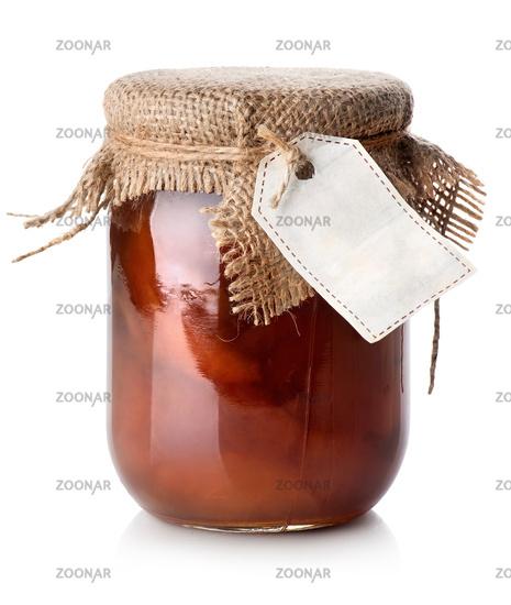 Jar of confiture