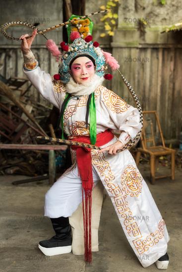 Sichuan opera female performer