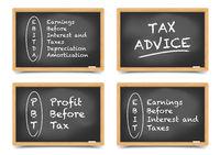 Blackboard Concept taxes