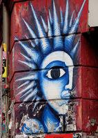 Wandmalerei bei