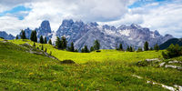 Monte Cristallo , Dolomites , South Tyrol