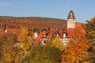 Altstadt von Hann. Münden im Herbst