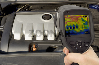 Engine Thermal Image