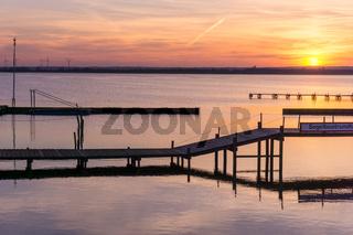Landschaft am Dümmer See-95