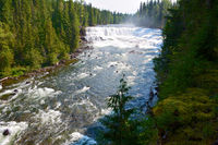 Dawson Falls im Wells Gray Nationalpark
