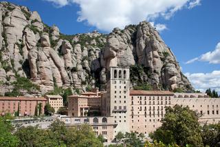 Montserrat Monastery in Catalonia