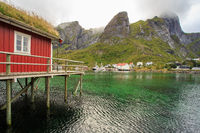 Rorbu in Reine