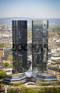 Gebäude der Deutschen Bank in Frankfurt