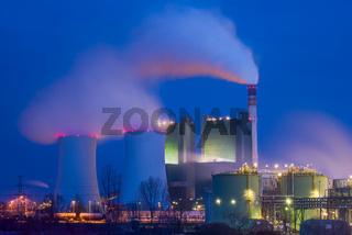 EON Kraftwerk Buna mit Anlage