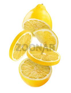 Fresh lemon white