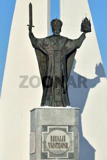 Denkmal St.-Nikolaus-Wundertäters. Kaliningrad, Russland