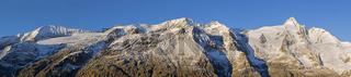 Großglockner, von Franz-Josefs-Höhe aus gesehen, Glocknergruppe, Kärnten, Österreich, Europa