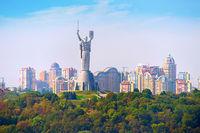 Motherland monument. Kyiv, Ukaine