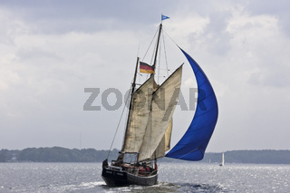 Historisches Segelboot