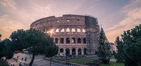 Rome, Italy: Colosseum, Flavian Amphitheatre