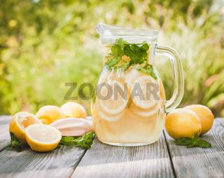Lemonade in the jug