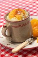Semolina Pudding, Semolina porridge, Dessert