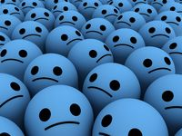 Sad smiles