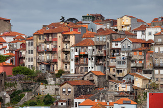 Old Town Houses of Porto in Portugal