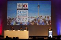 Press conference on the Tour de France 2017