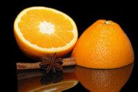 Orange and star anise