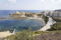 Bay for Swiming and sunbathing in Gozo