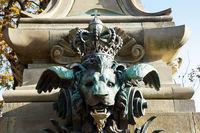 Lion's Head Gargoyle at Galatea fountain