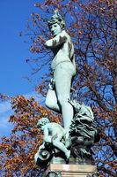 Galatea Goddess statue standing
