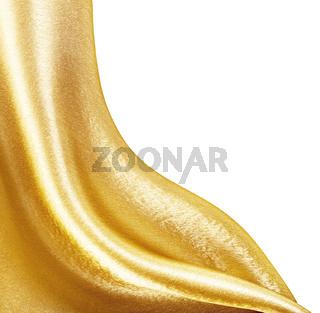 Golden Fabric silk