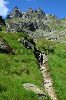 Maderer Taeli, Maderer Tal, Vermunt, Silvretta, Vorarlberg, Montafon,