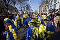 Shrove Monday procession 2016 in Duesseldorf