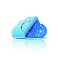 Cloud computing with electronic circuit