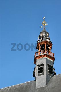 Atheneum Bibliothek Turmspitze in gent, belgien