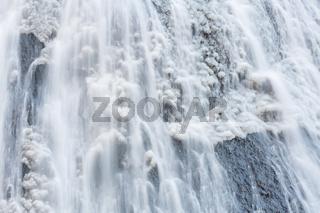 Snow at Fukuroda Falls