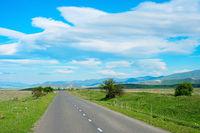 Georgian country road