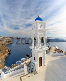 Church in Firostefani, Santorini