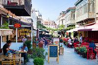 Tbilisi outdoor restaurant