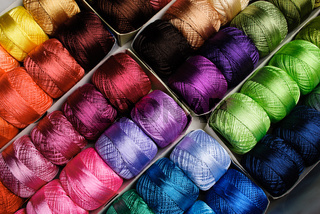 The color threads