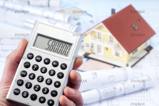 Calculation of the construction costs