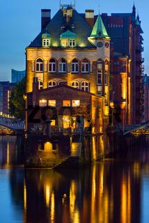 Historisches Gebäude in der Speicherstadt